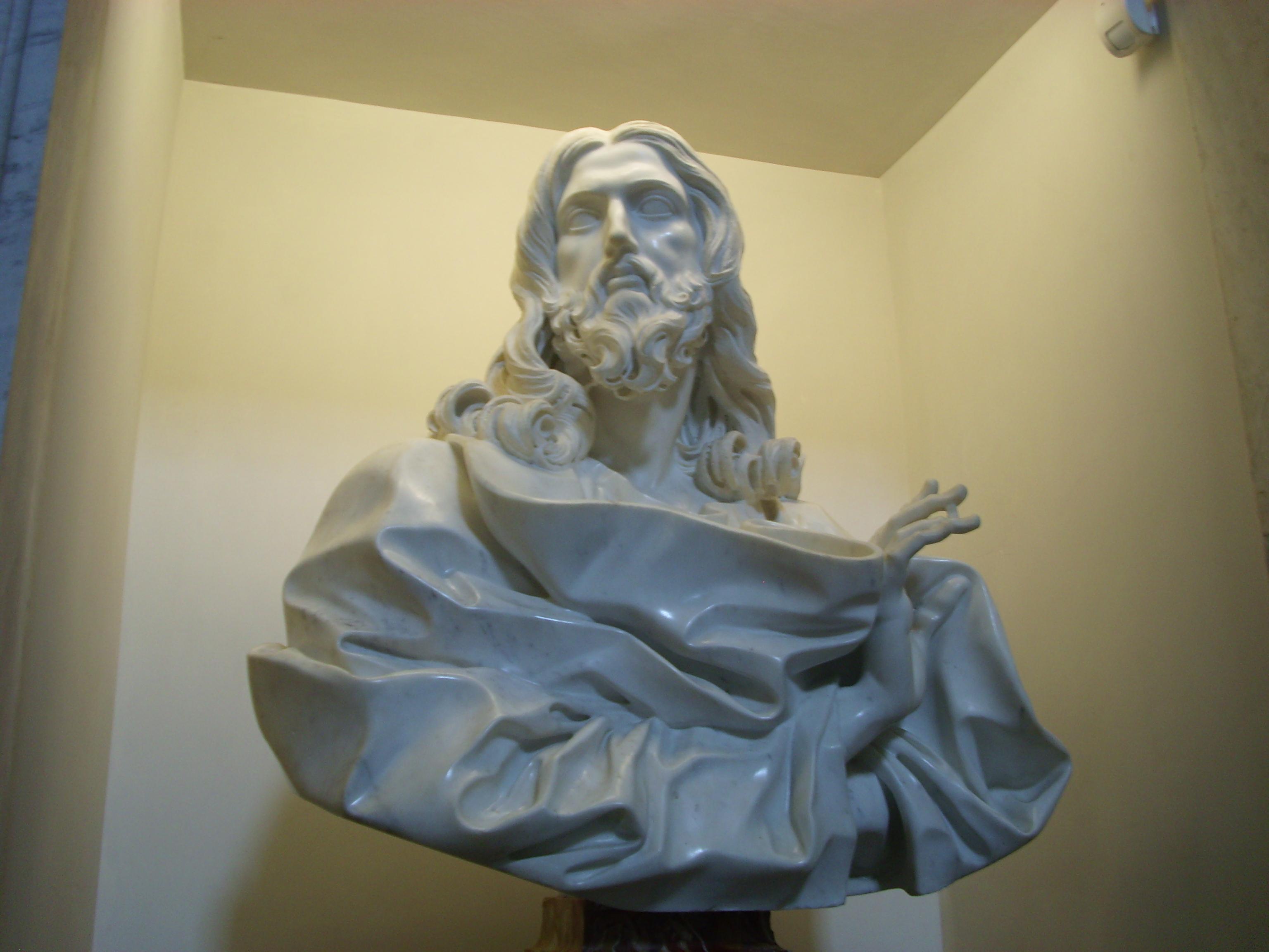 Bernini's last sculpture- Jesus   RachelTrek's Blog
